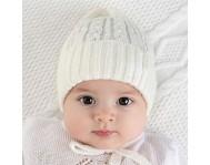 Детские вязанные шапки Весна