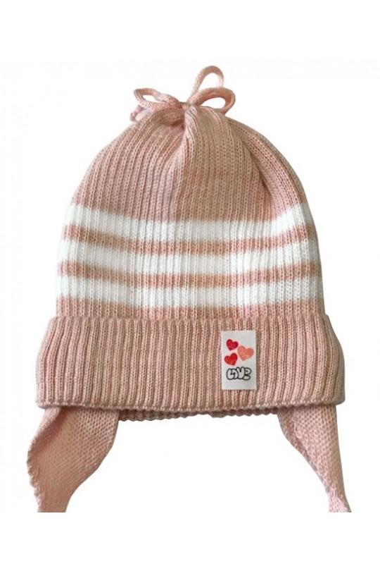 Детская шапка  Бантик
