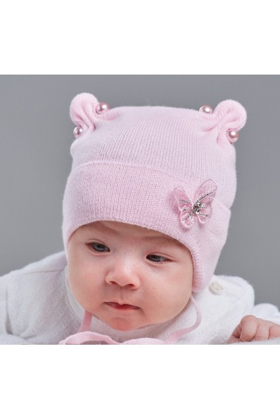 Детская шапка  Бордо
