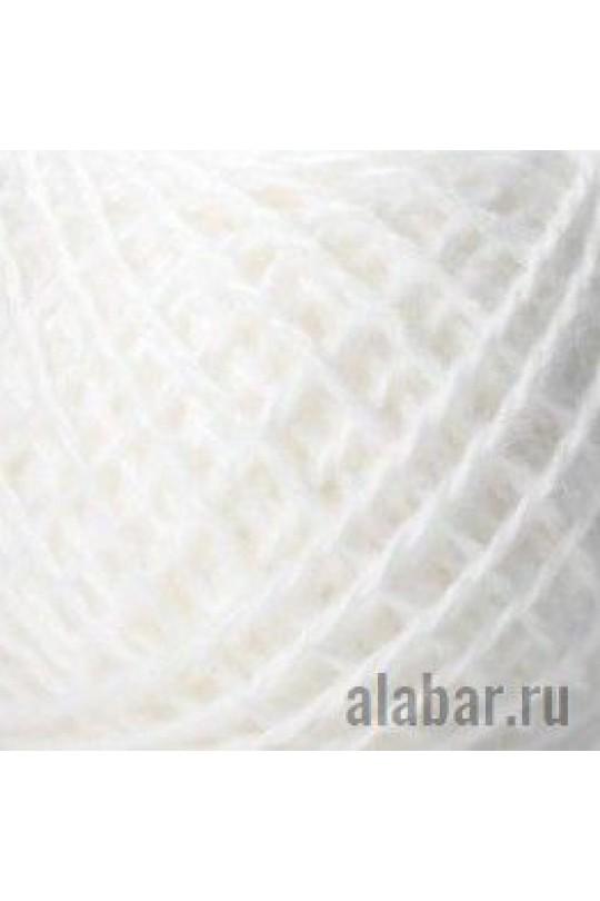 Карачаевская пряжа в пасмах Белый | ПП-0004